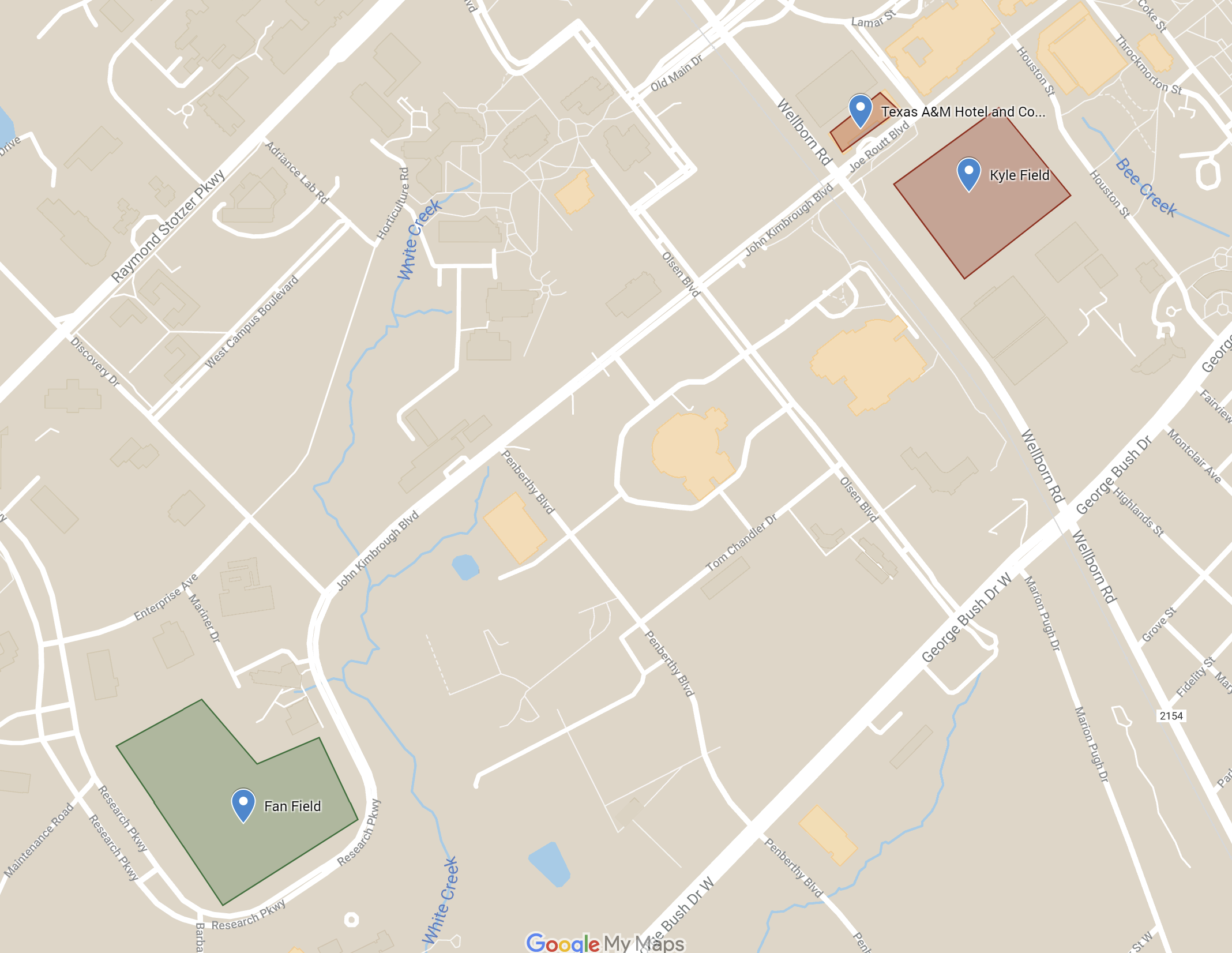 Fan Field Parking Map 2.0
